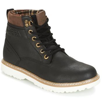 Zapatos Hombre Botas de caña baja Kappa WHYMPER Negro / Marrón