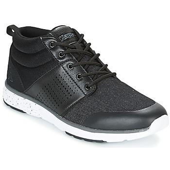 Zapatos Hombre Zapatillas altas Kappa NASSAU MID Negro / Gris