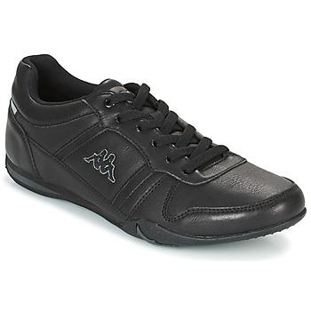 Zapatos Hombre Zapatillas bajas Kappa PARHELIE Negro / Gris