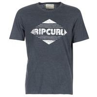 textil Hombre camisetas manga corta Rip Curl BIG MAMA DIAMOND Negro