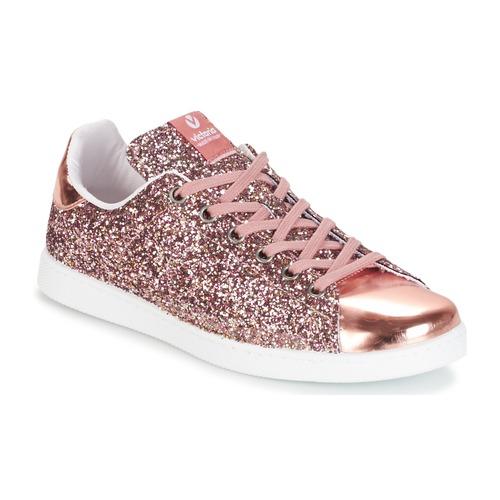 Zapatos promocionales Victoria DEPORTIVO BASKET GLITTER Rosa  Zapatos casuales salvajes