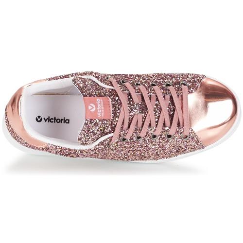 Victoria Glitter Rosa Zapatillas Zapatos Deportivo Mujer Bajas Basket thdCsQrx