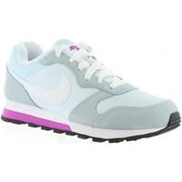 Zapatos Mujer Deportivas Moda Nike 749869 MD RUNNER 2 Blanco