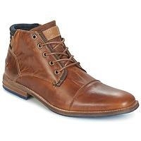 Zapatos Hombre Botas de caña baja Bullboxer MESSI COGNAC