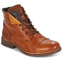 Zapatos Hombre Botas de caña baja Bullboxer BEN COGNAC