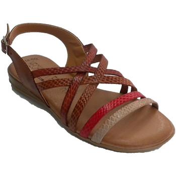 Zapatos Mujer Sandalias Togar Sandalia mujer de tiritas de colores azul