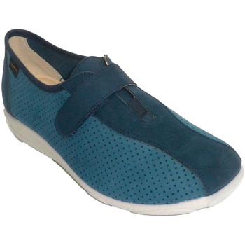 Zapatos Mujer Zapatillas bajas Doctor Cutillas Zapatilla mujer tipo deportiva calada azul