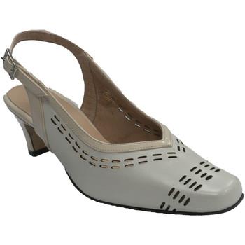 Zapatos Mujer Zapatos de tacón Trebede Zapato de vestir mujer abierto atrás beige