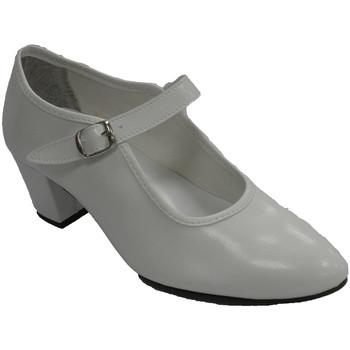Zapatos Mujer Bailarinas-manoletinas Danka 15 blanco