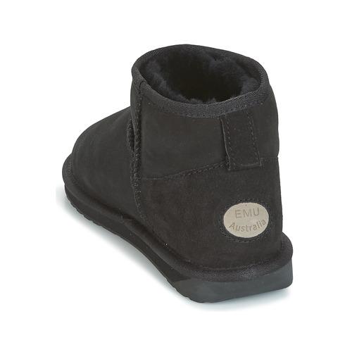 Botas Micro Stinger De Negro Baja Mujer Emu Zapatos Caña PZukXOi