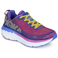 Zapatos Mujer Running / trail Hoka one one BONDI 5 Verde / Amarillo
