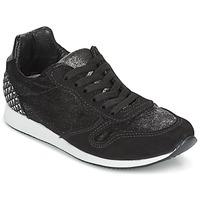 Zapatos Mujer Zapatillas bajas Ippon Vintage RUN VELVET Negro