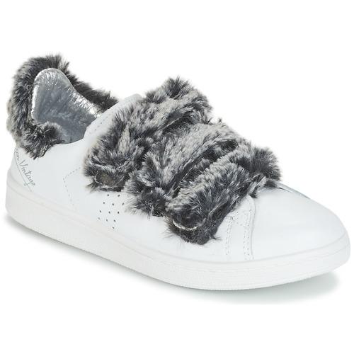 Los zapatos más populares para hombres y mujeres Zapatos especiales Ippon Vintage FLIGHT POLAR Blanco / Gris
