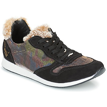 Zapatos Mujer Zapatillas bajas Ippon Vintage RUN SNOW Negro / Cobre