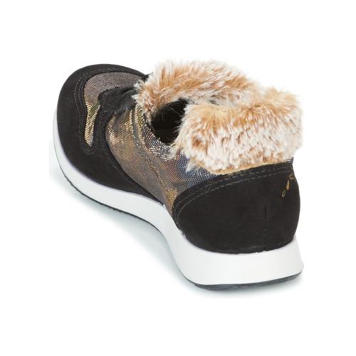 Casual salvaje Zapatos especiales Ippon Vintage RUN SNOW Negro / Cobre