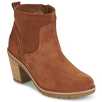 Zapatos Mujer Botines Panama Jack ARLES Marrón