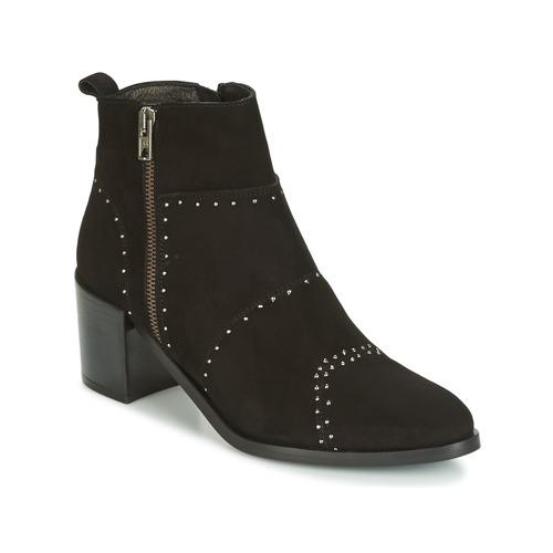 Zapatos de de mujer baratos zapatos de Zapatos mujer Zapatos especiales Regard RAPAGA Negro 92c710