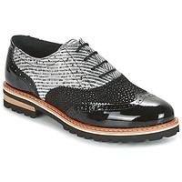 Zapatos Mujer Derbie Regard RIF2 Negro
