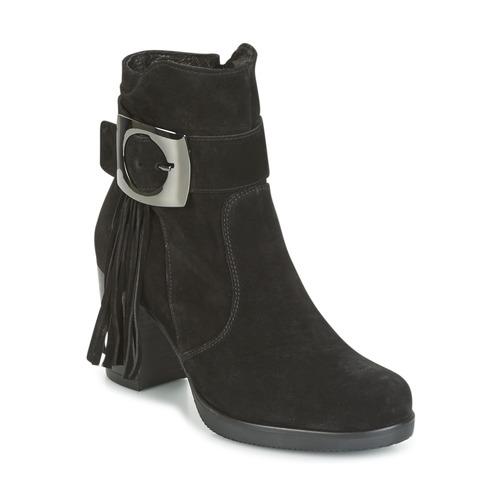 Los zapatos más populares para hombres y mujeres Zapatos especiales Samoa MARIEL Negro