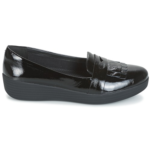 Fringey Mocasín Zapatos Mujer Negro Sneakerloafer Fitflop E9ebWDYH2I