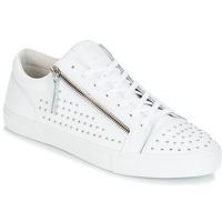 Zapatos Hombre Zapatillas bajas Jim Rickey ZED STUDS Blanco / Plateado