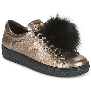Zapatos Mujer Zapatillas bajas Tosca Blu CERVINIA POM PON Negro