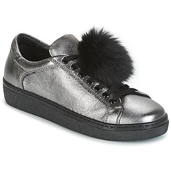 Zapatos Mujer Zapatillas bajas Tosca Blu CERVINIA POM PON Plata