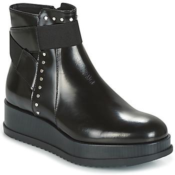 Zapatos Mujer Botas de caña baja Tosca Blu CIVETTA ABRASIVATO Negro
