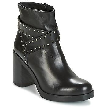Zapatos Mujer Botines Tosca Blu ST.MORITZ Negro