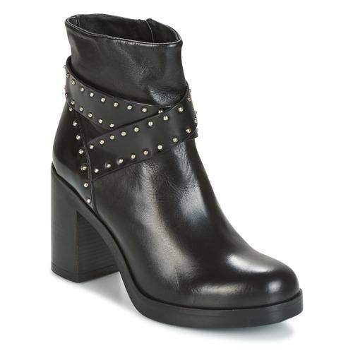 Grandes descuentos últimos zapatos Tosca Blu ST.MORITZ Negro - Envío gratis Nueva promoción - Zapatos Botines Mujer
