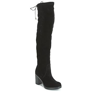 Zapatos Mujer Botas a la rodilla Tosca Blu ST MORITZ Negro