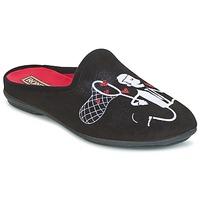 Zapatos Mujer Pantuflas Rondinaud YONNE Negro