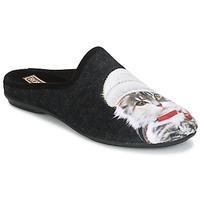 Zapatos Mujer Pantuflas Rondinaud MOSELOTTE Negro