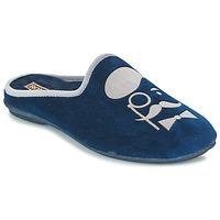 Zapatos Hombre Pantuflas Rondinaud BAYEUX Marino