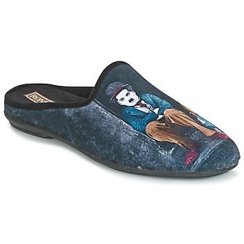 Zapatos Hombre Pantuflas Rondinaud CHERAN Negro