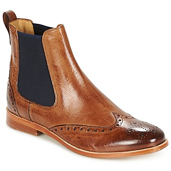 Zapatos Mujer Botas de caña baja Melvin & Hamilton AMELIE 5 Marrón / NAVY