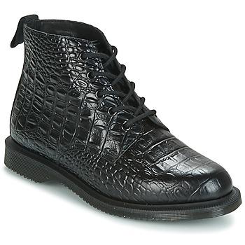 Zapatos Mujer Botas de caña baja Dr Martens EMMELINE Negro