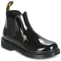 Zapatos Niños Botas de caña baja Dr Martens BANZAI Negro
