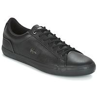 Zapatos Hombre Zapatillas bajas Lacoste LEROND 4 Negro / Blanco