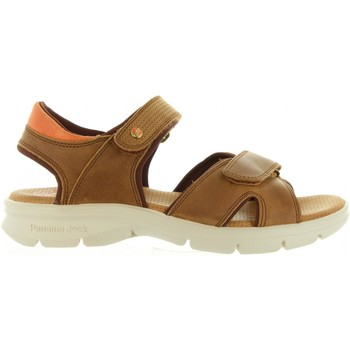 Zapatos Hombre Sandalias Panama Jack SANDERS MINK C1 Marrón