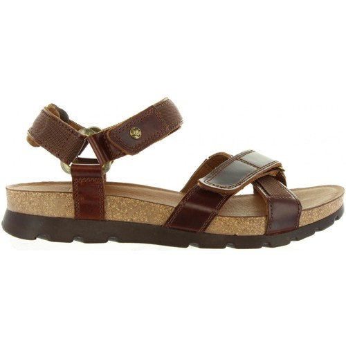 Zapatos especiales para hombres y mujeres Panama Jack SAMBO CLAY C1 Marrón