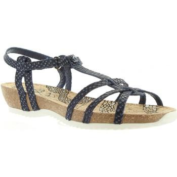 Zapatos Mujer Sandalias Panama Jack DORI RUN B2 Azul