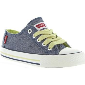 Zapatos Niños Deportivas Moda Levi's VTRU0008T TRUCKER LOW Azul