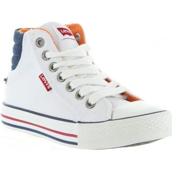Zapatos Niños Deportivas Moda Levi's VNEW0001T NEW YORK Blanco
