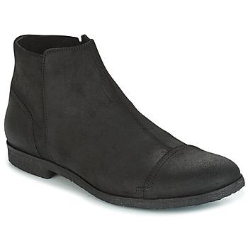 Zapatos Hombre Botas de caña baja Diesel D-KRID MID Negro