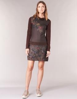 textil Mujer vestidos cortos Smash NANCY Marrón