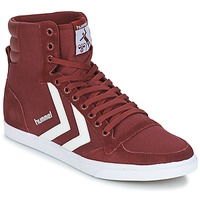 Zapatos Zapatillas altas Hummel STADIL CANEVAS HIGH Burdeo