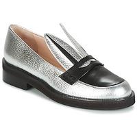 Zapatos Mujer Mocasín Minna Parikka LONG EARS Plata