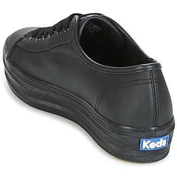 Keds TRIPLE KICK CORE LEATHER Negro