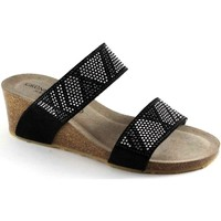 Zapatos Mujer Zuecos (Mules) Grunland GRU-CCC-CB1210-NE Nero